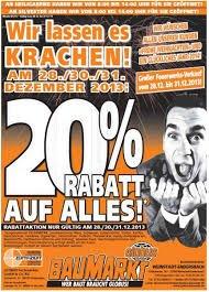 [LOKAL] Globus Wörth bei Karlsruhe 20% auf alles