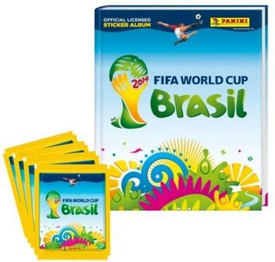 Weltbild - Panini WM 2014 Brasil Starter-Set Hardcover Deluxe ( inkl 20 Sticker) Nur 2,99 €