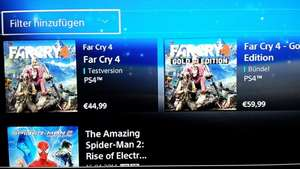 Far Cry 4 im Psn-Store