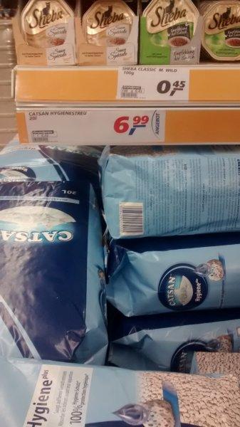 20l Catsan hygiene streu für 6,99 bei real