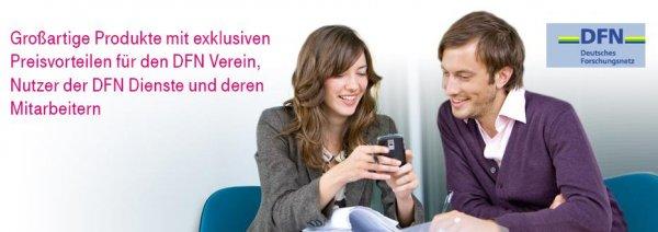 Sehr günstiger AllNet-Telekom-Mobilfunkvertrag für Studenten und Hochschul-Mitarbeiter