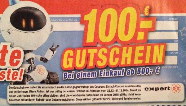 Expert-Neuss (100€ Gutschein; 500€ MBW)