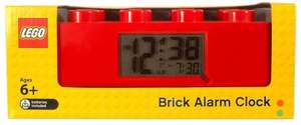 Lego Wecker-Legostein - ClicTime - 9002168 - Rot für 18,39€ @amazon.de