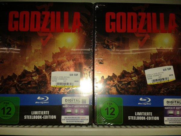 (Lokal Media Markt Heidelberg-Rohrbach) Godzilla - Limitierte Blu-ray Steelbook Edition (2014)