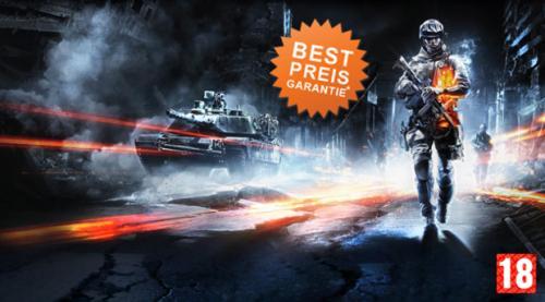 Battlefield 3 für 39,99 PC oder X-Box360 und PS3 für 49,99