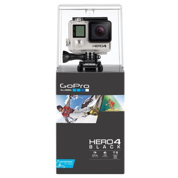 GoPro Hero4 Black Edition incl. GRATIS Akku und Speicherkarte