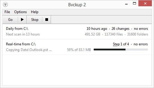 Bvckup 2 im Weihnachtssale (simple, aber sehr gute Backupsoftware)