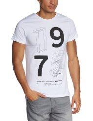 JACK & JONES Herren T-Shirt WIRE TEE (Gr. S) für 6,36€ @Amazon Prime