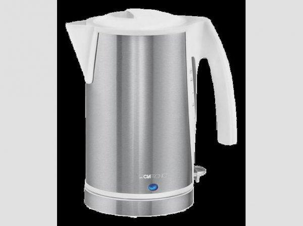 CLATRONIC WKS 3288 Wasserkocher weiß-inox für 17,99€ inkl. Versand @mediamarkt.de