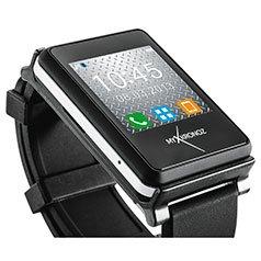 [ELV] MyKronoz Smartwatch ZeNano für Android und iOS, schwarz; 29,95€ + VSK