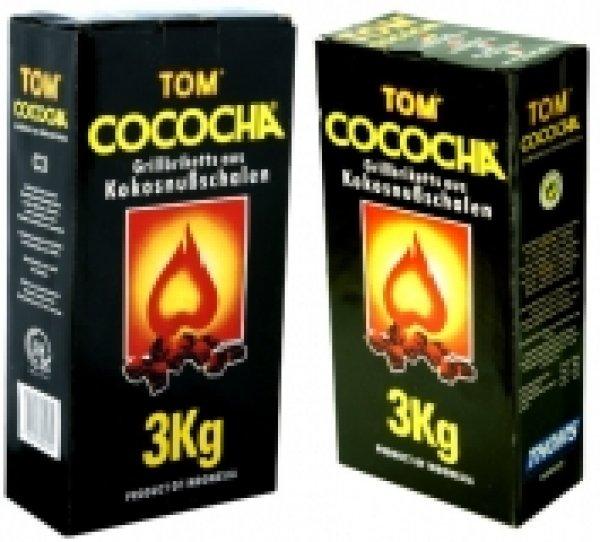 [Shisha Kohle] Tom Cococha Gelb 3kg 4,99€