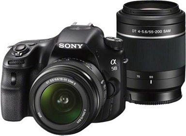 Sony SLT-A58Y Spiegelreflex Kamera (inkl. SD Karte / 2x Objektiven & Tasche) 499€ (mit QIPU ca.: 480€)