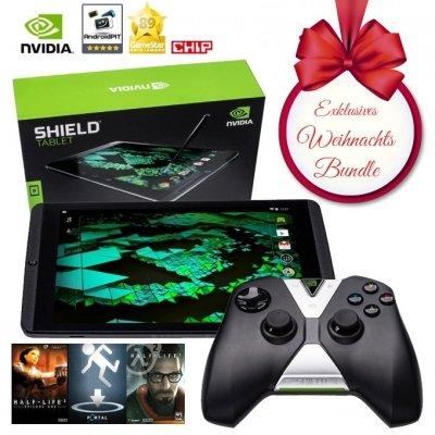 Nvidia Shield Tablet 32 GB LTE: Controller und Green Box bei Kauf bis 27.12. gratis