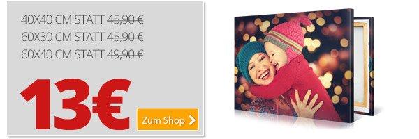 ? Noch 7 Tage: Bis zu 119,90€ auf XXL Foto-Leinwände sparen - Bester Deal aller Zeiten - Countdown bis Silvester ?