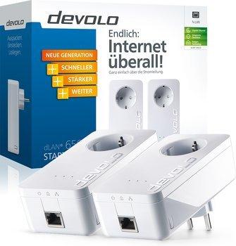 """Devolo PowerLAN Adapter """"dLAN 650+ Starter Kit"""" (2 Adapter) für 79,85€ @ ZackZack"""