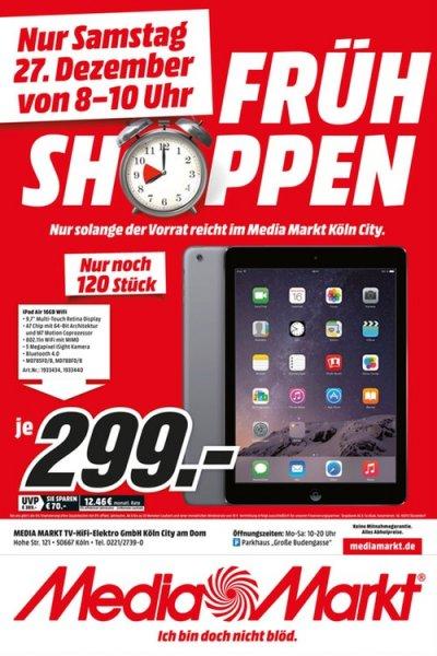 (MediaMarkt) (Köln) iPad Air WiFi 16gb