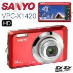 Sanyo VPC X1420 Digitalkamera 14 MP, 4-fach optischer Zoom und Weitwinkel iBood