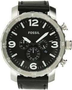 [Amazon]Fossil Herren-Armbanduhr XL Chronograph Quarz Leder JR1436