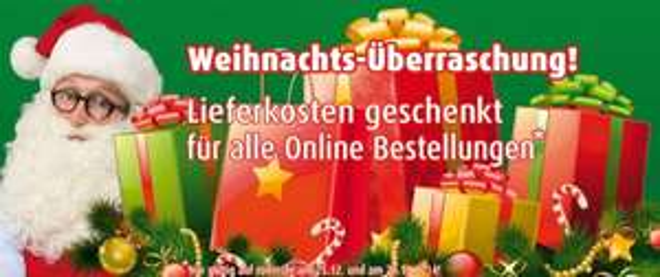 Roller - Keine Versandkosten bei Onlinebestellung 26.12.
