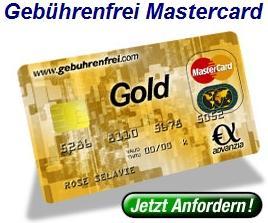 Gebührenfrei MasterCard Gold - 15€ Cashback