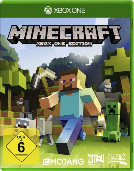 [microsoftstore.com] Minecraft - Xbox One & Xbox 360 für 19,99 € + 555 + 95 Payback Punkte