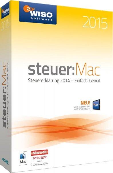 WISO Steuer:Mac 2015 im Angebot ab 24,99 € anstatt 39,99 €
