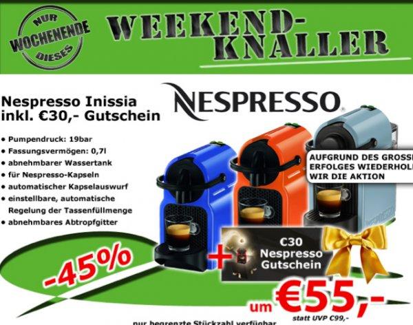 Nespresso Inissia - 0815.at