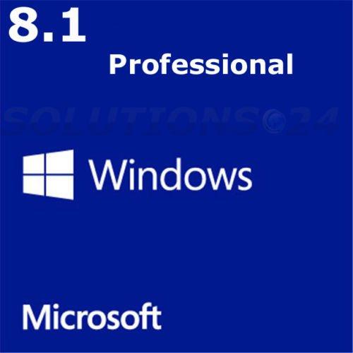 Windows 8.1 Professional KEY (nur KEY ebay)