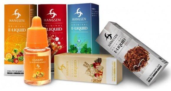 Liquid für E-Zigarette: 100ml Hangsen E-Liquid 10,68 zzgl. VSK -> Nur bis Silvester