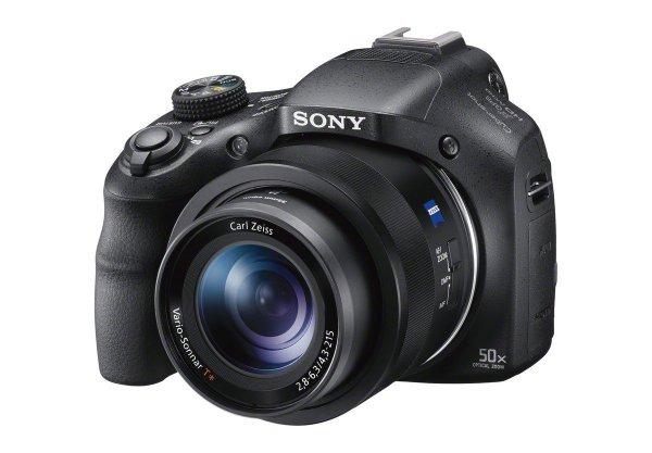 Sony DSC-HX400V Digitalkamera (20 Megapixel, 50-fach opt. Zoom, WiFi, NFC) schwarz inkl. Vsk für ~ 245 € > [amazon.uk]