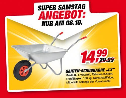 Schubkarre für 14,99 Super Samstag bei Toom!
