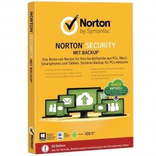 [redcoon] Norton Security 2015 mit Backup - 10 Lizenzen