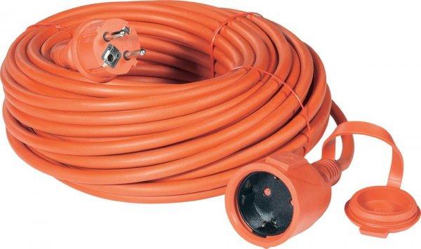 [Voelkner] - Strom Verlängerungskabel (Schutzkontakt-Gummi-Stecker - Schutzkontakt-Gummi-Kupplung) 16 A Rot 25 für 24,94€ inkl. Versand