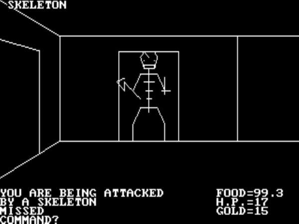 Kostenloses RPG bei GoG:  AKALABETH: WORLD OF DOOM