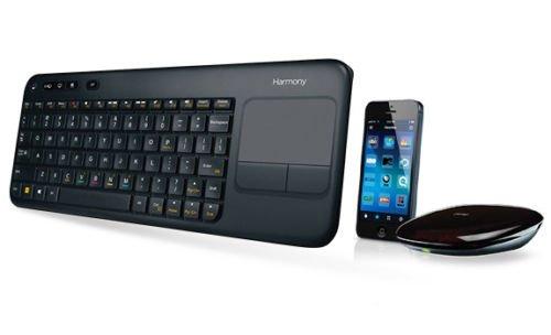 Logitech Harmony Smart Keyboard (Tastatur + Hub für iOS & Android) für 55€ @eBay