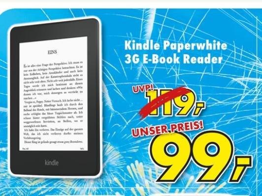 [Euronics Funk in Merzig-Besseringen] Kindle Paperwhite 3G
