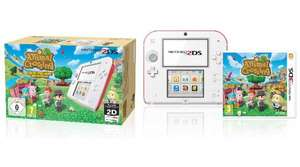 [Amazon] Nintendo 2DS rot/weiß inkl. Animal Crossing Limited Edition