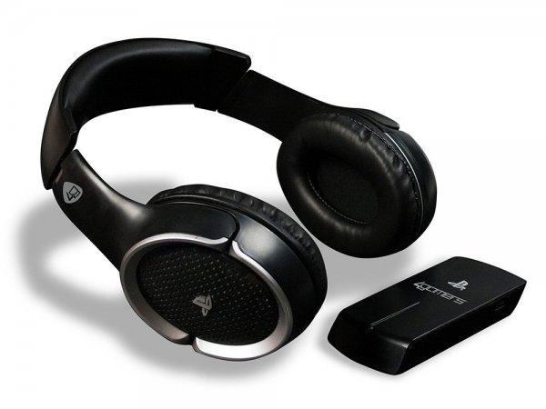 [3% / 5€ Neukundengutschein] Wireless Stereo Gaming Headset PS4 in schwarz für 23,90€ @DC