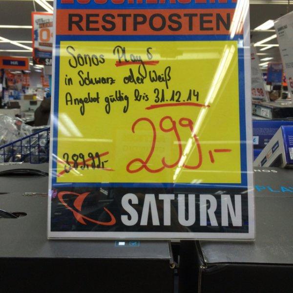 [Saturn Dortmund] Sonos Play 5 für 299,- EUR