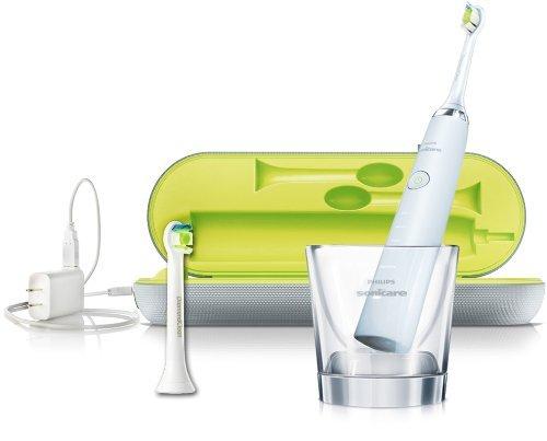 Philips Sonicare DiamondClean Wiederaufladbare Schallzahnbürste mit Ladeglas HX9332/04 weiß inkl. Vsk für ~ 108 € > [amazon.uk] > Tagesdeal
