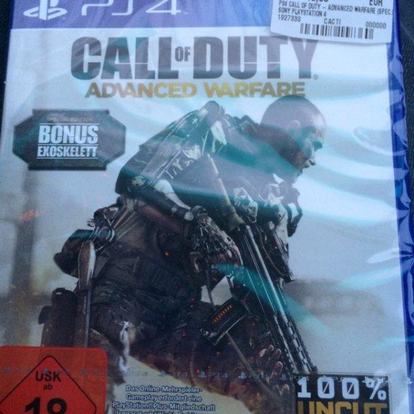 Call of Duty Advanced Warfare PS4 für 45€ MM Lippstadt