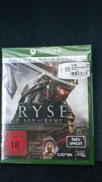 MediaMarkt Herzogenrath (Aachen) Ryse - Son of Rome *Legendary Edition* Xbox One