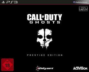 [Lokal Lünen] Call of Duty: Ghosts Prestige Edition für PS3 bei Saturn für 29,99€