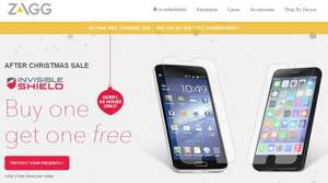 """[ZAGG] Invisible Shield: """"Buy one, get one free"""" zzgl. 5 EUR Discount"""