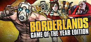 [Steam] Borderlands: Game of the Year Edition @nuuvem