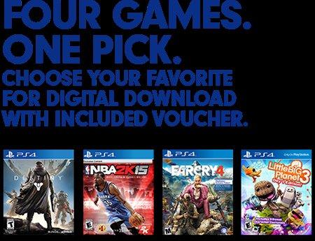 [PS4] Far Cry 4, Destiny, NBA 2k15, oder Little Big Planet 3 für je 34,49$ / digital aus den USA