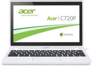 """Amazon-WHD Acer C720P mit Touchscreen in weiß 166,17 Euro in """"sehr gut"""" idealo: 269 Euro -38%"""