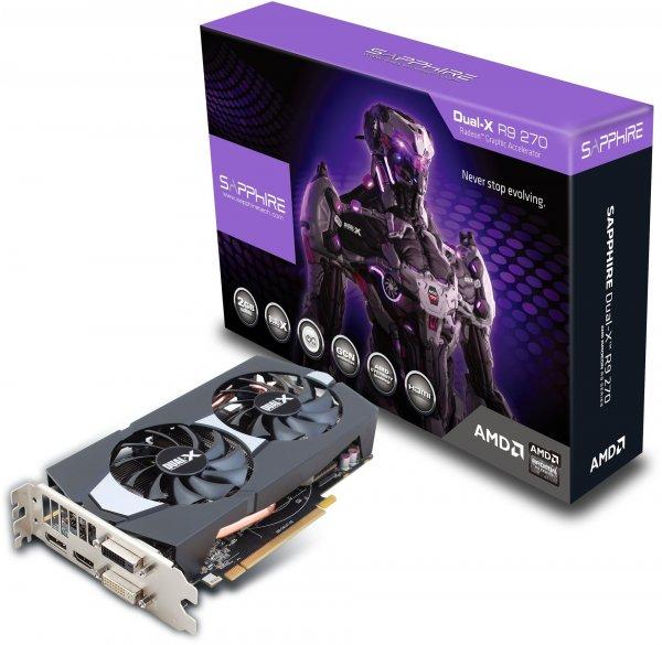 Sapphire Radeon R9 280 Dual-X OC 3.0 GB OC Grafikkarte @Computeruniverse