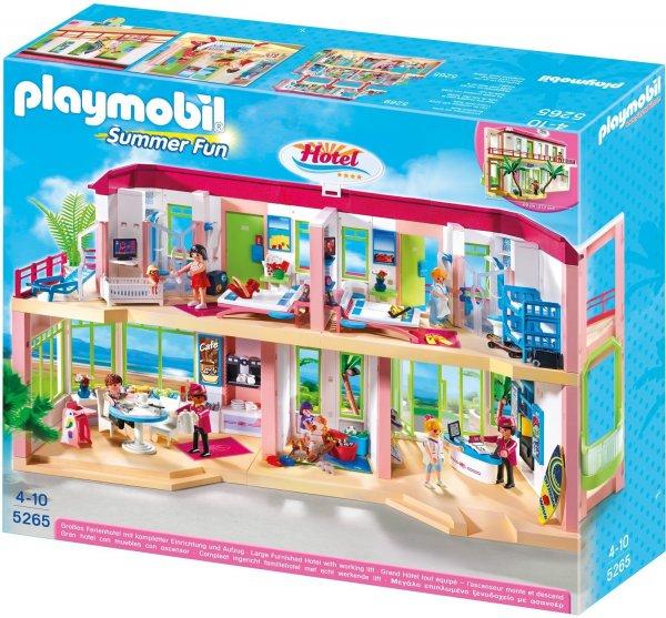 PLAYMOBIL 5265 - Großes Ferienhotel mit Einrichtung für 59,78 Euro @Amazon.co.uk