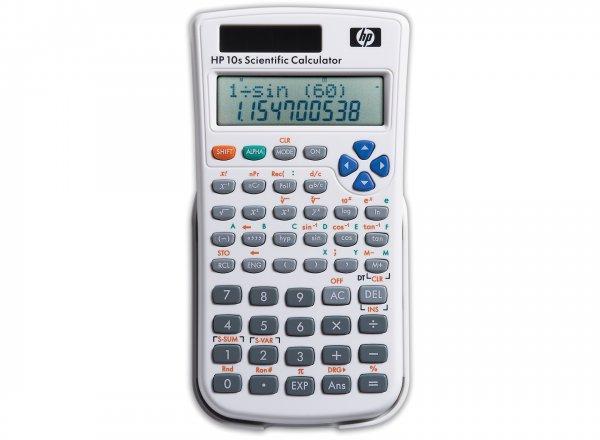 (HP) HP 10s+ Wissenschafts-Taschenrechner wieder für 5,99€